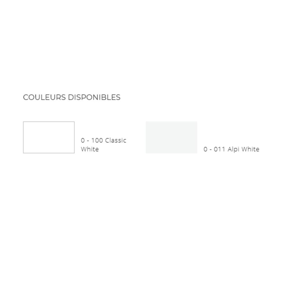 Lavabo ACRY +   BB R 614   A coller