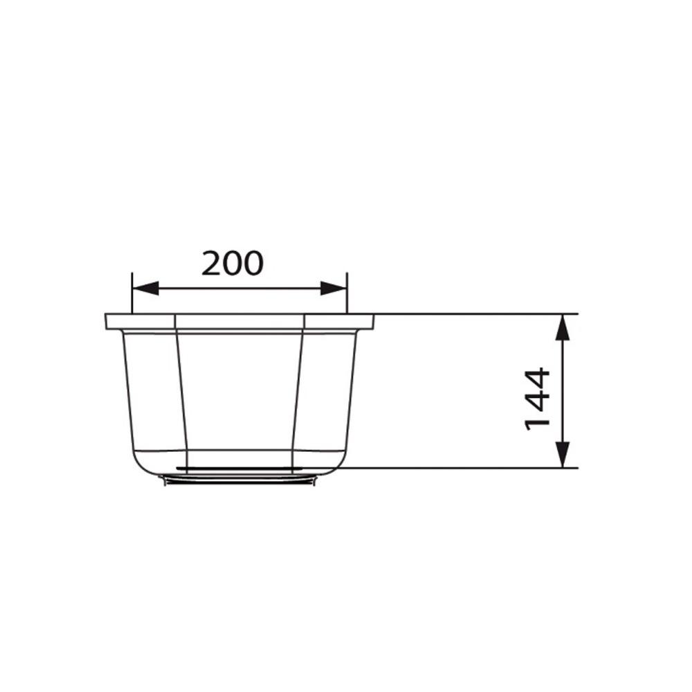 Cuve HI-MACS®   CS203