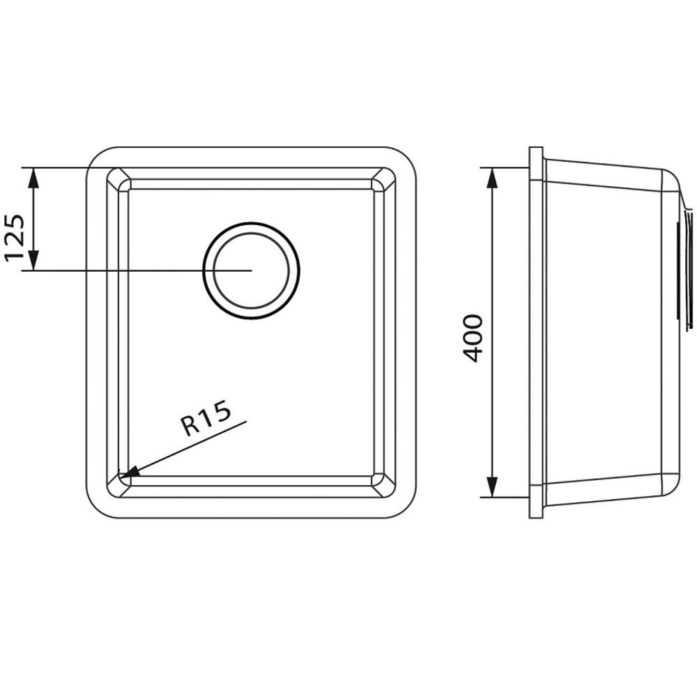 Cuve HI-MACS®   CS354
