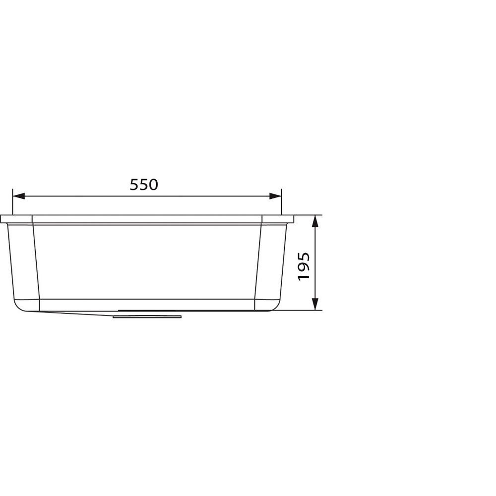 Cuve HI-MACS®   CS553