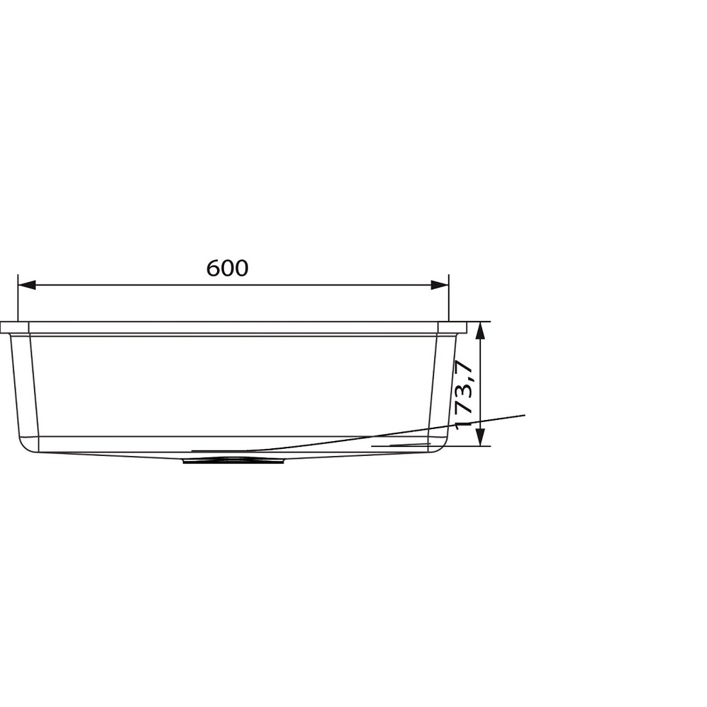 Cuve HI-MACS®   CS604